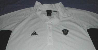 Notre Dame Fighting Irish Polo Shirt 4XL Adidas White